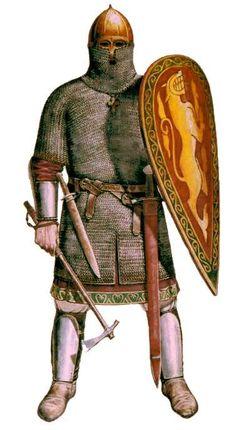 1200 - 1400 Ruso-sueca Guerra de las armas medievales rusos del siglo