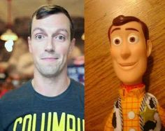 Woody from Toy Story | 40 People Who Look So Much Like Celebrities It's Scary