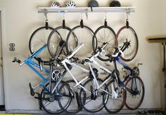how to handle storing many bikes