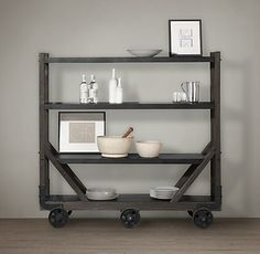 Retro Vintage Industrial Storage | Restoration Hardware
