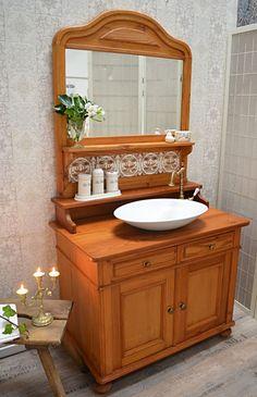 Balcony Furniture, Bathroom Furniture, Dresser Vanity Bathroom, Large Family Rooms, Contemporary Home Decor, Dream Bathrooms, Bathroom Styling, Home Renovation, Home Furnishings