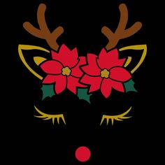 Reindeer Face! SVG