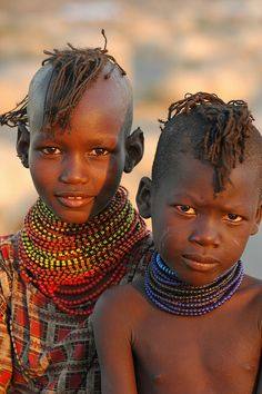 Turkana, Kenya Children INOCENTES NIÑOS, QUE AHORA CONOCEMOS.
