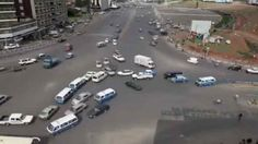 Insanely Busy Street Intersection Without Traffic Lights Is Absolute Chaos. How?! #Interesting #Ethiopia