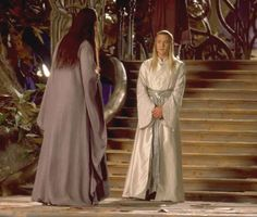 Still from deleted scene of Elrond visiting his in-laws!