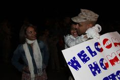 WELCOME HOME! Cpl. Francisco E. Agostolopez reunites with his family at Marine Corps Air Station Cherry Point, following a six-month deployment to Afghanistan. Read more: bit.ly/y3JE8y (DVIDS photo by Lance Cpl. Scott L. Tomaszycki. Used with permission.) Operation Gratitude supports deployed troops, military families, veterans and wounded warriors. Find out more: bit.ly/weAwOq