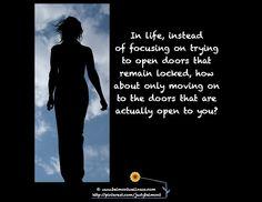 Open up a door that opens!
