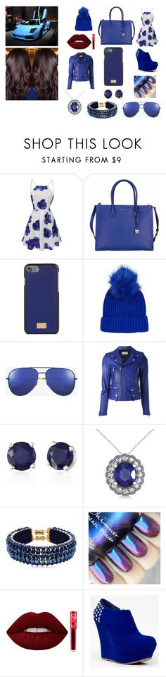 """""""Untitled #191"""" by misstateanna ❤ liked on Polyvore featuring Michael Kors, Dolce&Gabbana, Topshop, Yves Saint Laurent, Effy Jewelry, Allurez, Only Child, Lime Crime, GURU and Bamboo"""