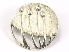 STERLING SILVER BROOCH BY OLA GORIE  Rose Boudoir Design Scottish  925 - http://elegant.designerjewelrygalleria.com/ola-gorie/sterling-silver-brooch-by-ola-gorie-rose-boudoir-design-scottish-925/