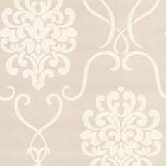 DL30443 Aqua Modern Damask - Suzette - Decorline Wallpaper