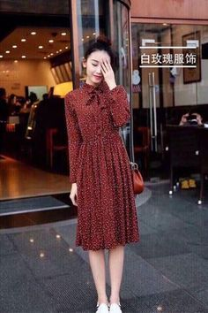 Pin by sagarika weerasinghe on women casual dress in 2019 fashion outfits, fash Modest Dresses, Modest Outfits, Modest Fashion, Skirt Fashion, Casual Dresses For Women, Hijab Fashion, Cute Dresses, Korean Fashion, Vintage Dresses