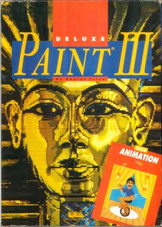 Deluxe Paint III, introducing animation, and turning DPaint into After Effects avant la lettre. Computer Video Games, All Video Games, Retro Video Games, Gaming Computer, Retro Games, Arcade Console, First Animation, Arcade Games, Pc Games