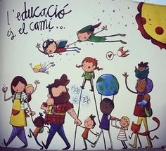 Turu, Banner, Comics, Illustration, Fictional Characters, School, Sketches, Cooperative Learning, Educational Activities