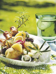 Rosmariini-perunasalaatti