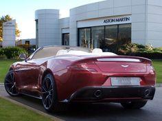 Aston Martin Lagonda - Pre-Owned - Car Details - Vanquish Volante - JCT600