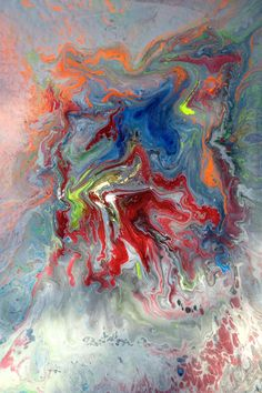 """Mike Pietro Abstract Art: """"The Colorist"""" Artwork by Mike Pieto"""