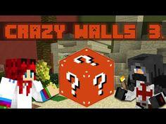 Minecraft - Crazy Walls - A Gyilkos Búza!- w/IceBlueBird Minecraft, Walls, Logos, Art, Art Background, Wands, Logo, Kunst, Wall