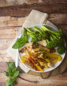 One Pan Paleo Chicken Cacciatore — Foraged Dish