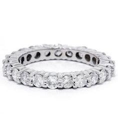 Hey, I found this really awesome Etsy listing at http://www.etsy.com/listing/68456601/150ct-diamond-eternity-wedding-ring-14k