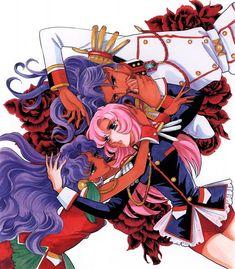 """少女革命ウテナ, さいとうちほ - Art from """"Revolutionary Girl Utena"""" series by manga artist…"""