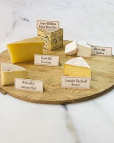 Cheese Plate How-To | Martha Stewart