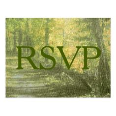 Shop Rustic Nature RSVP Invitation Postcard created by WeddingsByRhoadie. Wedding Response Cards, Postcard Size, Smudging, Rsvp, Paper Texture, Invitations, Rustic, Nature, Prints
