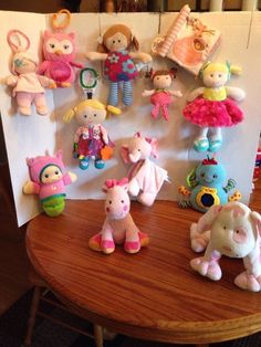 c886ec0d744d LARGE LOT OF 12 GIRLS INFANT BABY INTERACTIVE SOFT TOYS GREAT CONDITION