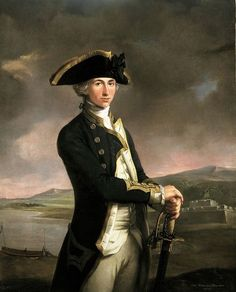 Portrait of the Young Horatio Nelson, 1781. by marva