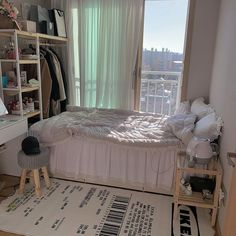 Room Design Bedroom, Room Ideas Bedroom, Small Room Bedroom, Bedroom Decor, Small Bedrooms, Dream Rooms, Dream Bedroom, Study Room Decor, Appartement Design
