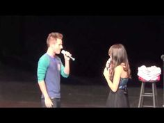 """Colleen Ballinger dedicates song to Joshua at Miranda Sings Live Show - """"All of Me"""" - YouTube THIS IS SO CUTE"""