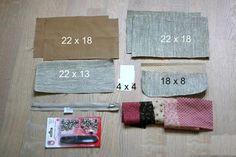 Cosmetic Bag of Linen ~