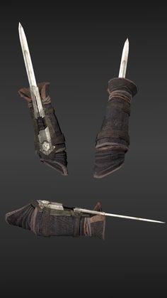 Assassins Creed Series, Assassins Creed Unity, Assassins Creed Origins, Assisans Creed, Assassin's Creed Hidden Blade, Scarecrow Mask, Guerra Anime, Assassin's Blade, Hidden Weapons