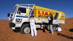 Liaz na Dakaru: Galerie českých speciálů Rallye Paris Dakar, Road Racing, Cars And Motorcycles, Offroad, Trucks, Retro, Vehicles, Pictures, Historia