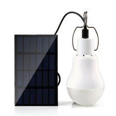 Holigoo 15W 130LM Solar Lamp Portable Led Light Bulb Solar Light Energy Led Lighting Solar Panel Camp Tent Night Fishing Light  Price: 9.99 USD