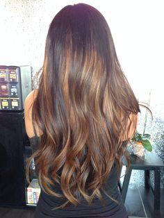 Sun-kissed hair :))