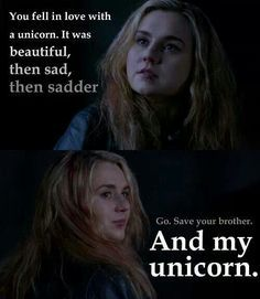 Not sure if my unicorn will ever truly understand this but this scene gets me every time