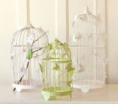 Hanging Birdcage Collection #PotteryBarnKids  Could be cute to hang if I use the tree painted in nursery