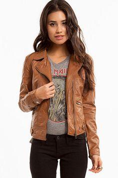 Lumi Leather Motorcycle Jacket $47