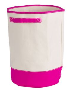 Pink Plastic Laundry Basket Enchanting Hot Pink Bongo  Durable Dorm Laundry Hamper  Laundry Hamper Design Decoration