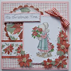 Gorgeous card using Cardmaking & Papercraft's free stamp set by Confessions of a Papersniffer