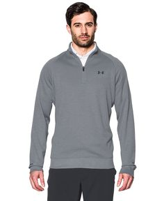 fe02d45eda4 Under Armour Men s Quarter-Zip Storm-Fleece Golf Sweater Golf Sweaters