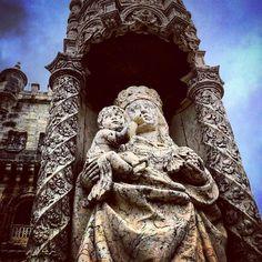 Torre de Belém detail. #architecture #art #history // #lisboa #portugal