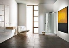 Radiance Curved with Integrated Shower Tray – Matki Radiance Curved mit integrierter Duschwanne – Matki Bath Screens, Bathroom Showrooms, Bathroom Design Inspiration, Uk Homes, Shower Enclosure, Shower Doors, Wall Spaces, Modern Bathroom, Glass Door