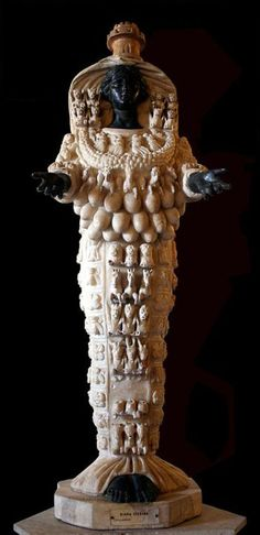 This essay looks at the clothing of Artemis of Ephesus, and at what her items of clothing symbolise. A short history of the goddess is also included. Artemis, Ancient Art, Ancient History, Mother And Child Reunion, Religion, African Royalty, Ephesus, Classical Art, Divine Feminine