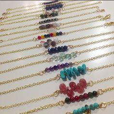 www.Raptorjewelry.com hand made jewel bracelets