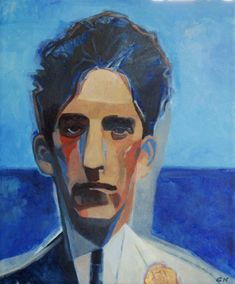 Gary Kelley Online, cocteau, oil