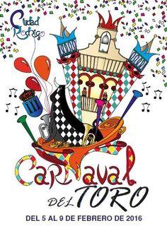 Carnaval del Toro 2016 en Ciudad Rodrigo Lenten Season, Ash Wednesday, Playing Cards, Seasons, Birthday, Poster, Drawing, Twitter, Vintage