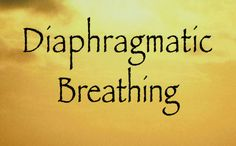 Breath right to Reduce Anxiety