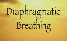Training: Diaphragmatic Breathing    http://cmhc.utexas.edu/stressrecess/Level_Two/breathing.html#