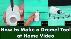 How to Make a Dremel Tool at Home Video
